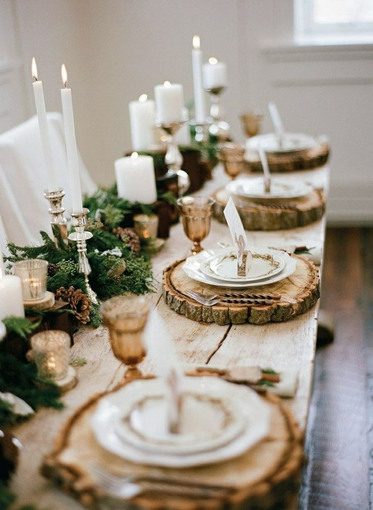 Amazing Preferred Rustic Christmas Coffee Table Decors Regarding 11 Christmas Home Decorating Styles 70 Pics Decoholic (Image 4 of 50)