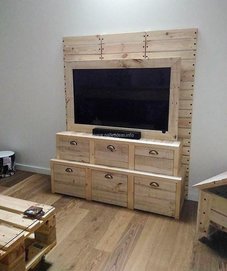 Amazing Preferred Storage TV Stands With Regard To 119 Best Pallet Tv Stands Images On Pinterest Pallet Tv Stands (Image 4 of 50)