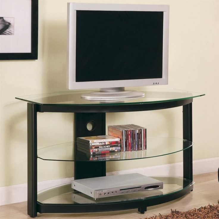 Amazing Preferred Unique TV Stands For Flat Screens Pertaining To 25 Best Corner Tv Ideas On Pinterest Corner Tv Cabinets Corner (Image 1 of 50)
