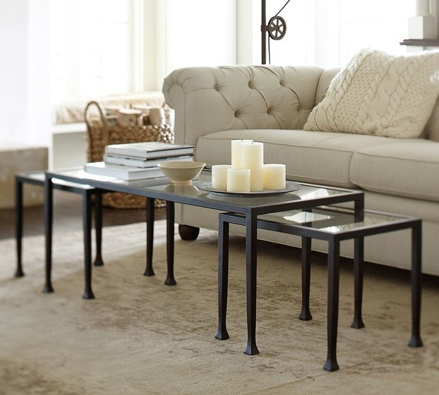 Amazing Premium Antique Glass Pottery Barn Coffee Tables For Coffee Tables Antique Nesting Coffee Tables Design Modern Nesting (Image 5 of 50)