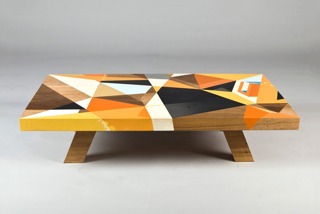 Amazing Premium Art Coffee Tables With Regard To Coffee Table Meets Abstract Art Video Daily K Pop News (Image 2 of 50)