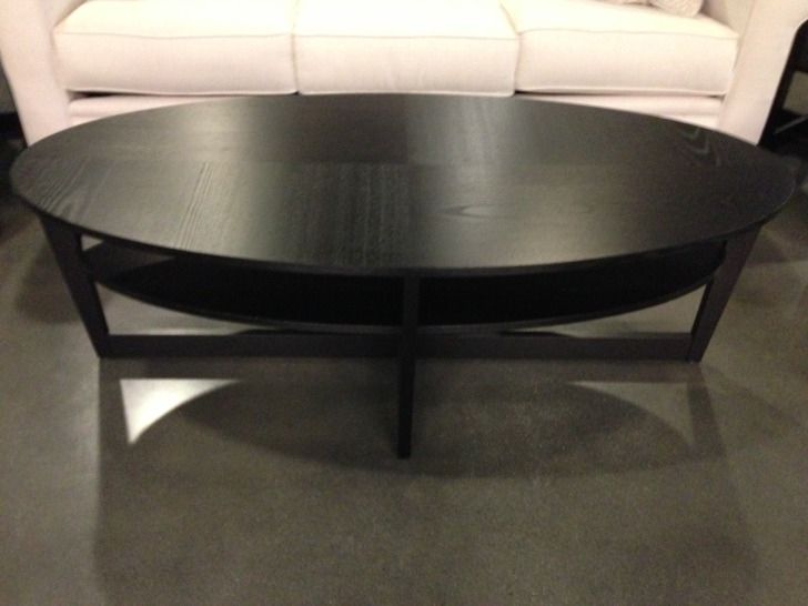 Amazing Premium Black Oval Coffee Tables With Regard To Round Oval Coffee Tables Starrkingschool (View 20 of 40)