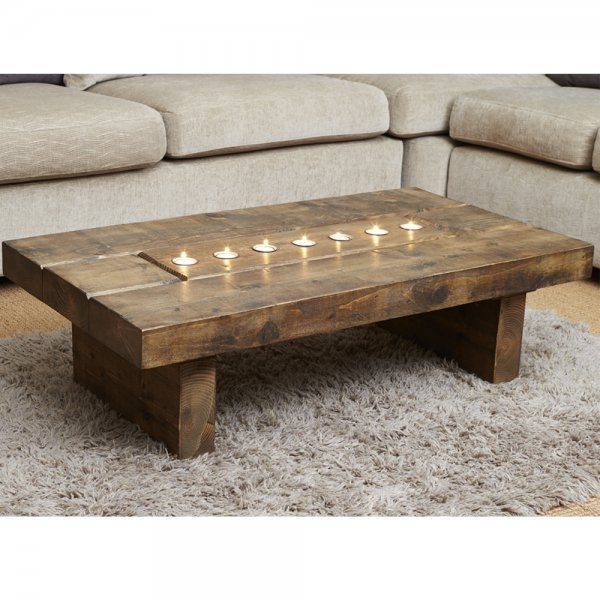 Amazing Premium Chunky Wood Coffee Tables In Cube Plank T Light Coffee Table Wood Tables From Curiosity (Image 1 of 50)