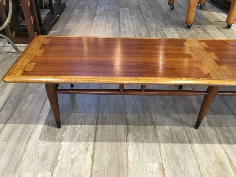 Amazing Premium Long Coffee Tables In Extra Long Lane Dovetail Coffee Table For Sale At 1stdibs (Image 3 of 50)