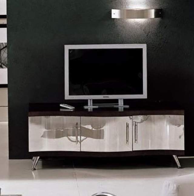 Amazing Premium Mirrored TV Cabinets Furniture Within Tv Stands Amusing Design Mirror Tv Stand Collection Outstanding (Image 2 of 50)