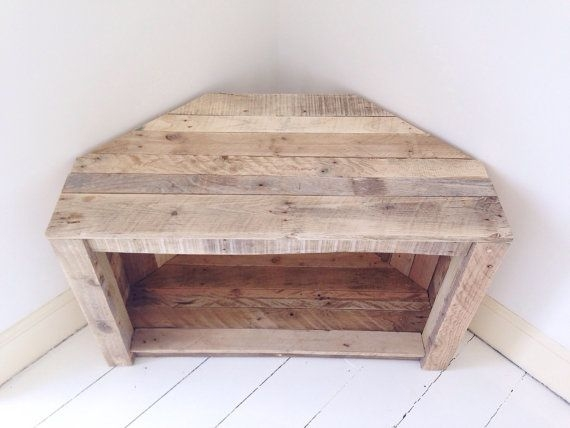 Amazing Premium Rustic Coffee Table And TV Stands For Best 25 Corner Tv Table Ideas On Pinterest Corner Tv Tv Stand (Image 4 of 50)