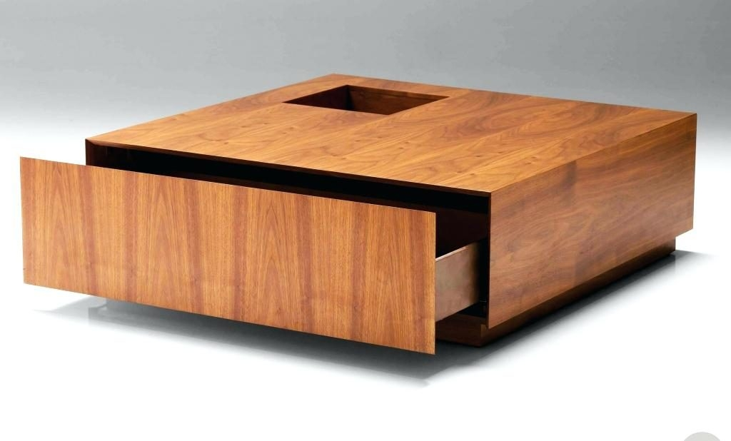 Amazing Premium Square Low Coffee Tables For Coffee Table Low Square Coffee Table Modern Design Of With (Image 3 of 50)