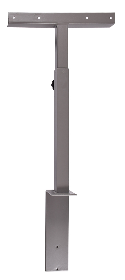Amazing Premium Upright TV Stands Intended For Decibel Upright Tv Stand Gray (Image 2 of 50)