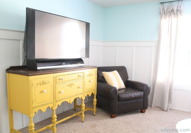 Amazing Premium Yellow TV Stands Regarding Mustard Yellow Buffet (View 17 of 50)