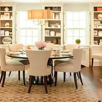 Amazing Round Dining Room Tables For 6 Pictures – 3D House Designs In 6 Seat Round Dining Tables (View 15 of 20)