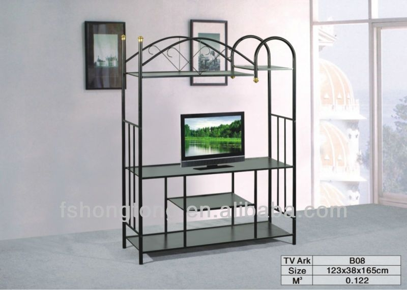 Amazing Series Of Cast Iron TV Stands Within Cast Iron Tv Stand Home Design Ideas (Image 4 of 50)