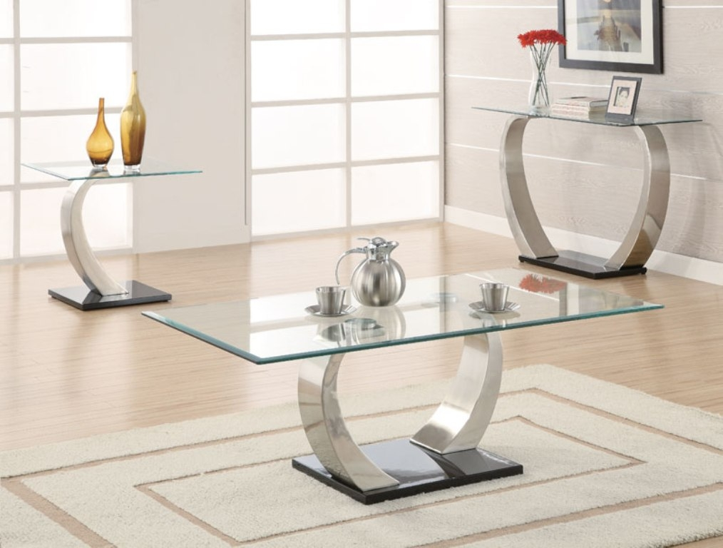 Amazing Series Of Contemporary Glass Coffee Tables Intended For Oval Modern Glass Coffee Tables Modern Glass Coffee Table For (Image 1 of 50)