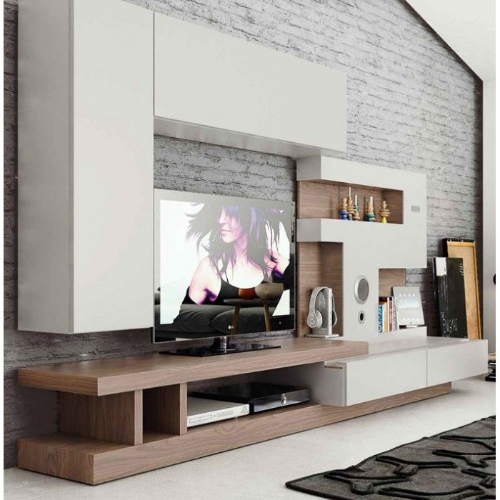 Amazing Series Of Cream TV Cabinets Throughout Best 25 Modern Tv Units Ideas On Pinterest Tv On Wall Ideas (Image 2 of 50)