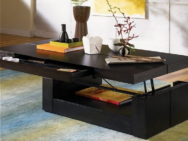 Amazing Series Of Lift Top Coffee Tables Pertaining To Stylish Lift Top Coffee Tables With How To Make A Coffee Table (Image 4 of 50)