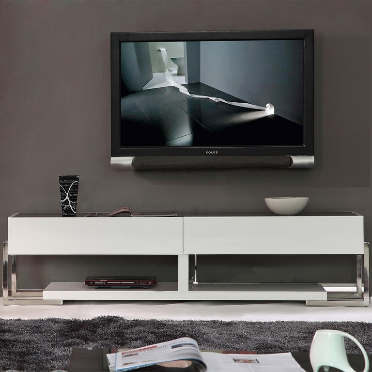 Amazing Series Of Low Profile Contemporary TV Stands For Furniture Low Profile Contemporary Tv Stand Housing Units (Image 4 of 50)