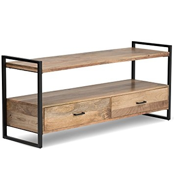 Amazing Series Of Mango TV Stands With Regard To Amazon Simpli Home Riverside Tv Media Stand For Tvs Up To (View 30 of 50)
