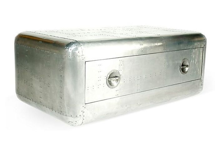 Amazing Series Of Silver Trunk Coffee Tables In Silver Trunk Coffee Table Timconverse (Image 3 of 40)