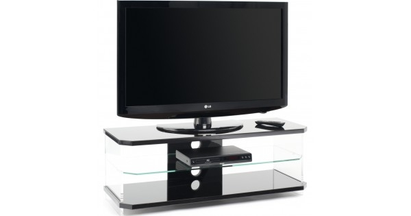 Amazing Series Of Techlink Air TV Stands For Optically Clear Side Panels Screens Up To  (Image 4 of 50)