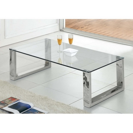 Amazing Series Of Transparent Glass Coffee Tables Regarding The Unique Transparent Coffee Table (Image 4 of 50)
