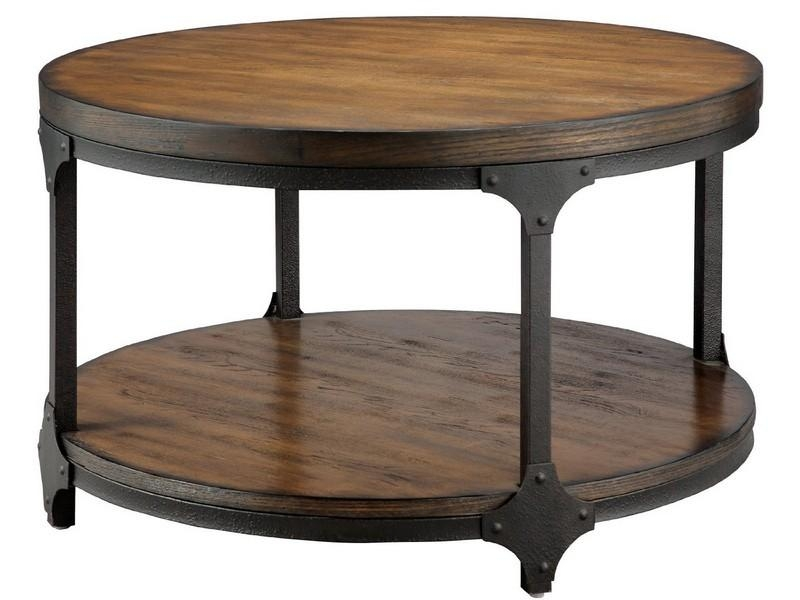 Amazing Series Of White Cottage Style Coffee Tables Within Round White Cottage Style Coffee Table Look Here Coffee Tables (Image 6 of 50)