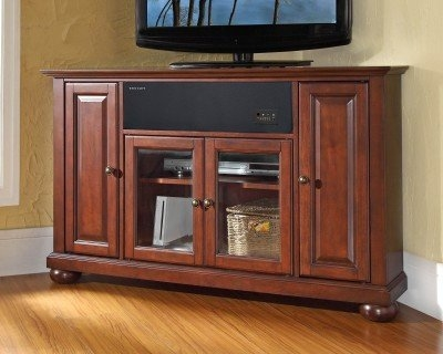 Amazing Top 50 Inch Corner TV Cabinets Within Corner Tv Cabinet Top 10 Most Elegant Corner Tv Stands Tv (Image 3 of 50)