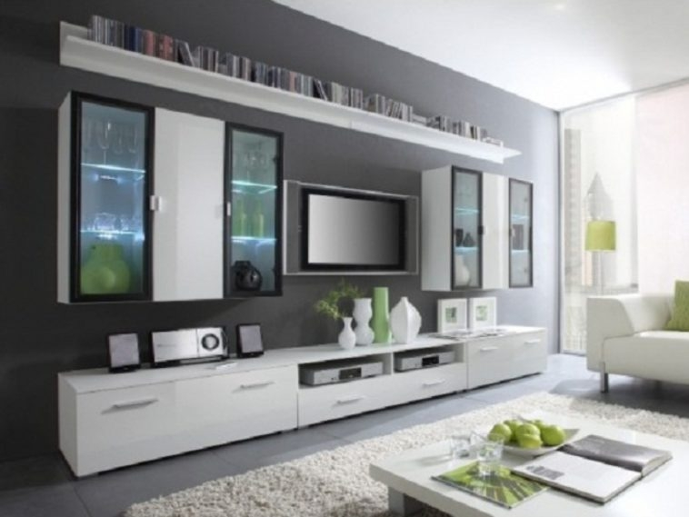 Amazing Top Black TV Cabinets With Drawers With Regard To Furniture White Wooden Wall Mount Tv Cabinets With Drawers And (Image 3 of 50)