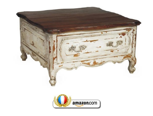 Amazing Top Country French Coffee Tables Pertaining To French Provincial Furniture Part  (Image 3 of 50)
