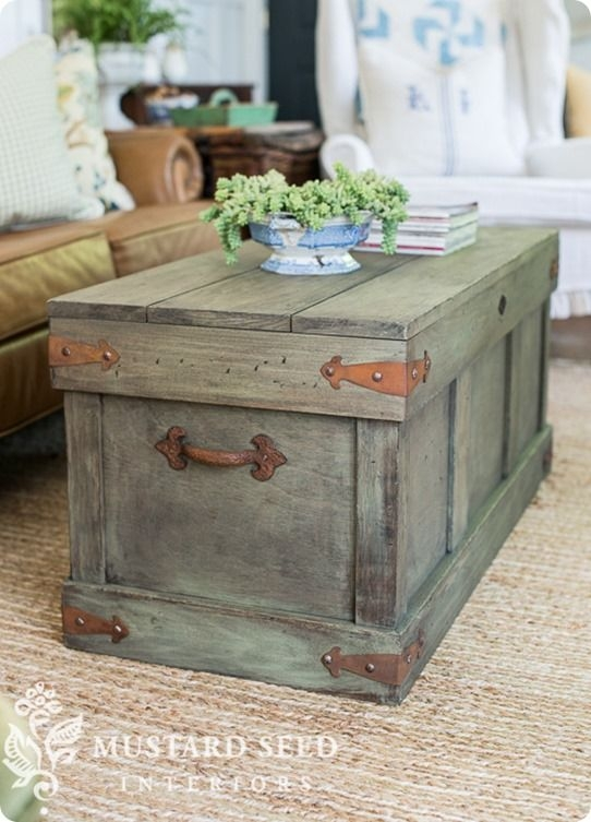 Amazing Top Dark Wood Chest Coffee Tables Within Best 25 Trunk Coffee Tables Ideas On Pinterest Wood Stumps (Image 2 of 50)