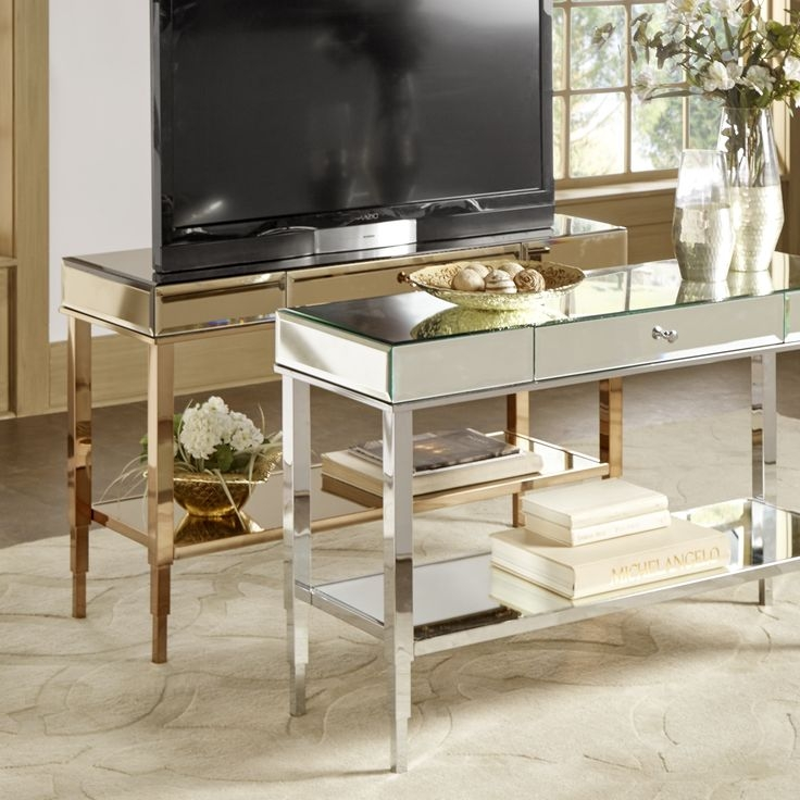 Amazing Top Gold TV Stands With Best 10 Silver Tv Stand Ideas On Pinterest Industrial Furniture (View 43 of 50)