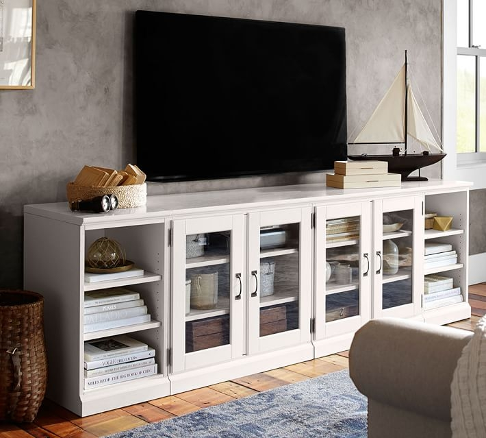 Amazing Top Long White TV Stands For 7 White Tv Stands For Your Living Room Cute Furniture (Image 5 of 50)