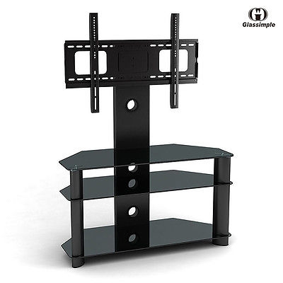 Amazing Top Modern TV Stands With Mount Intended For Modern Tv Stand W Mount Media Entertainment Center Console Home (Image 3 of 50)
