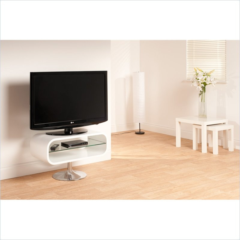 Amazing Top Opod TV Stands White With Regard To Tech Link Opod Tv Stand Op80w (Image 4 of 50)