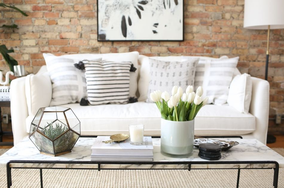 Amazing Top Thin Coffee Tables Regarding 15 Narrow Coffee Table Ideas For Small Spaces Living Room Ideas (View 49 of 50)