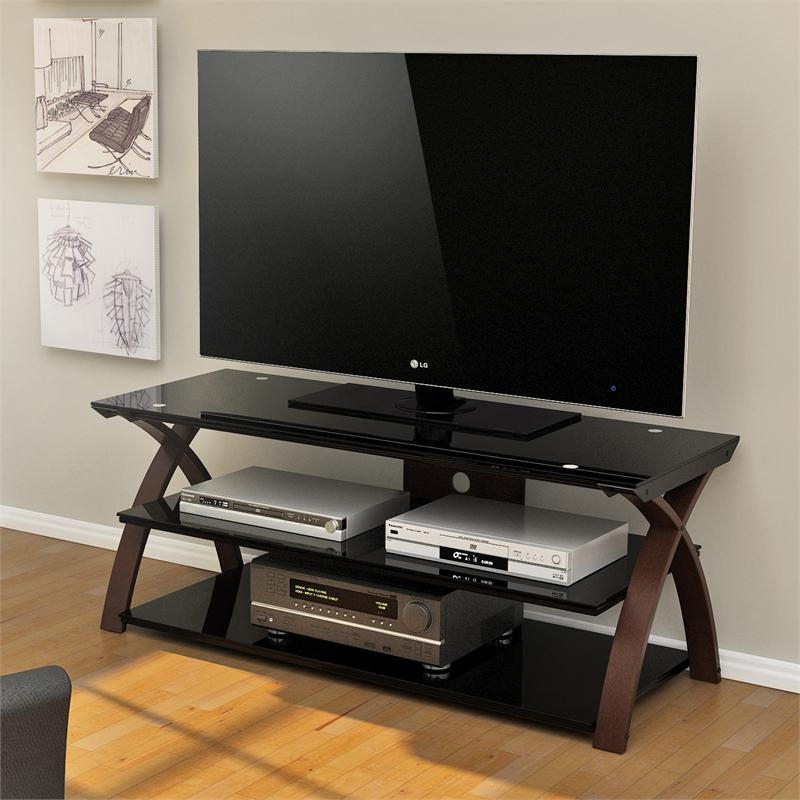 Amazing Top TV Stands For 55 Inch TV Pertaining To Z Line Willow 55 Inch Tv Stand Zl0292 55su (Image 3 of 50)