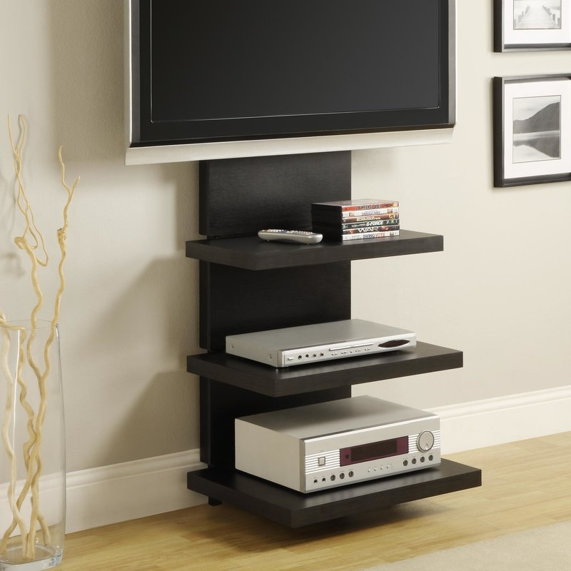Amazing Top TV Stands With Storage Baskets Intended For Extra Tall Tv Stands Wayfair (Image 2 of 50)