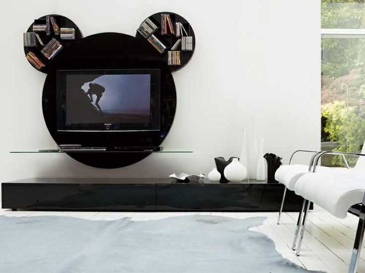 Amazing Top Unusual TV Stands For Best 10 Unique Tv Stands Ideas On Pinterest Studio Apartment (Image 4 of 50)