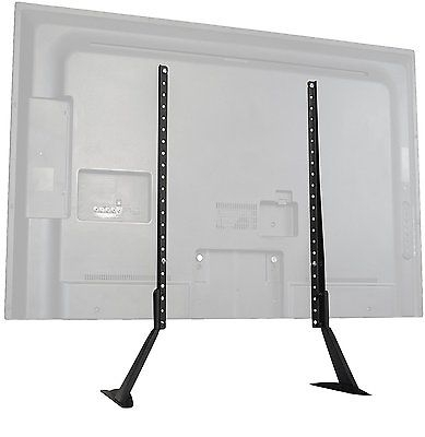 Amazing Top Vizio 24 Inch TV Stands Within Universal Table Top Tv Stand Base Led Lcd 55 48 46 42 40 39 37  (Image 3 of 50)