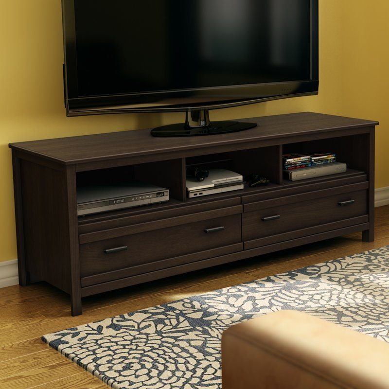 Amazing Top Wayfair Corner TV Stands Intended For South Shore Exhibit 60 Tv Stand Reviews Wayfair (View 33 of 50)