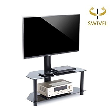 Amazing Trendy 61 Inch TV Stands With Regard To Amazon Tavr Tv Stand With Swivel Mount And Height Adjustable (Image 3 of 50)