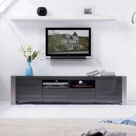 Amazing Trendy BModern TV Stands Pertaining To B Modern Composer 79 Tv Stand Reviews Wayfair (Image 4 of 50)