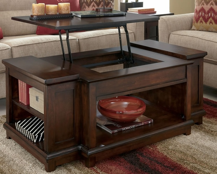Amazing Trendy Coffee Tables With Rising Top With Regard To 32 Best Lift Up Coffee Table Images On Pinterest Lift Top Coffee (Image 1 of 40)