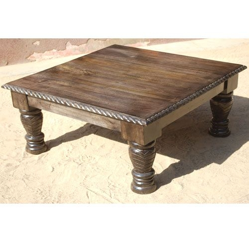 Amazing Trendy Dark Wood Square Coffee Tables Throughout 41 Best Wooden Coffee Tables Images On Pinterest Coffee Table (Image 7 of 50)