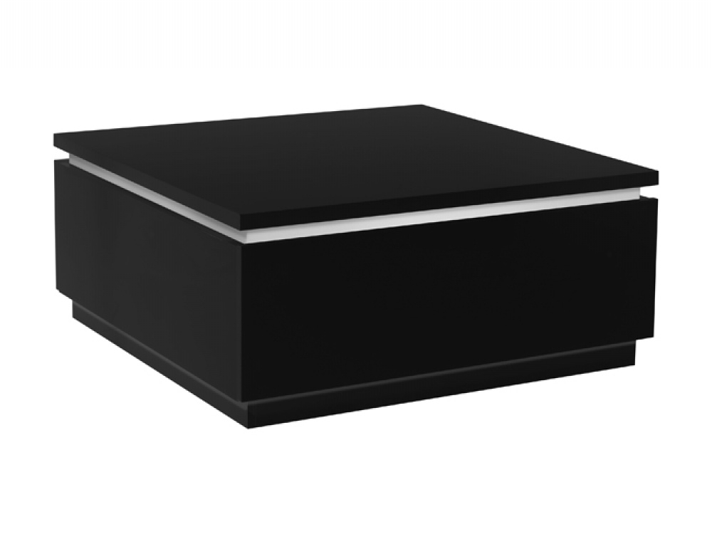 Amazing Trendy Low Coffee Tables With Drawers Regarding Fine Modern Black Coffee Table Vghbaoak Modrest Gemstone Oak T (Image 3 of 50)