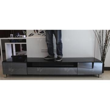 Amazing Trendy Mirrored TV Cabinets Intended For Tempered Glass In Black Painting And Mdf Tv Cabinet With Mirror (View 38 of 50)