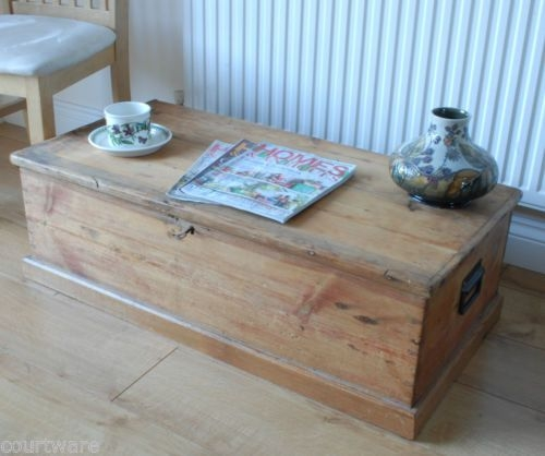 Amazing Trendy Old Pine Coffee Tables Intended For 24 Best Blanket Box Ideas Images On Pinterest Blanket Box (Image 4 of 50)