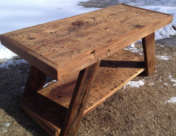 Amazing Trendy Rustic Barnwood Coffee Tables In Best 25 Barnwood Coffee Table Ideas Only On Pinterest Dark Wood (View 10 of 50)
