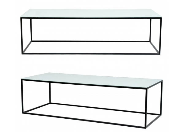 Amazing Trendy Steel And Glass Coffee Tables Intended For Metal Coffee Table (Image 3 of 50)