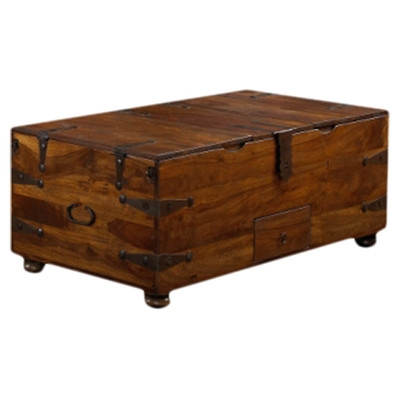 Amazing Trendy Trunk Coffee Tables  In Loon Peak Mapleton Trunk Coffee Table Reviews Wayfair (Image 3 of 50)