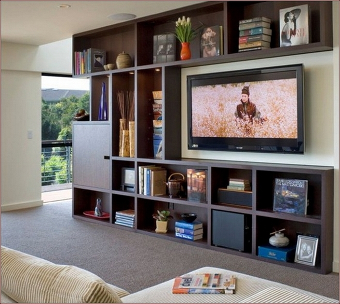 Amazing Trendy TV Stands Bookshelf Combo With Regard To Tv Stands Outstanding Modern Bookcase Tv Stand Combo Photo (Image 8 of 50)