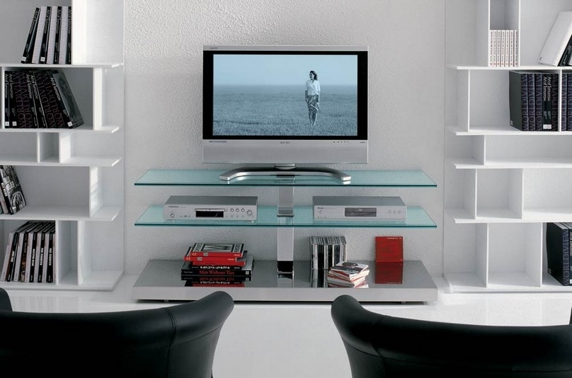 Amazing Trendy Wall Mounted TV Stands With Shelves Within Tv Stands Best Choose 55 Inch Tv Stand With Mount Design Tv Wall (Image 2 of 50)